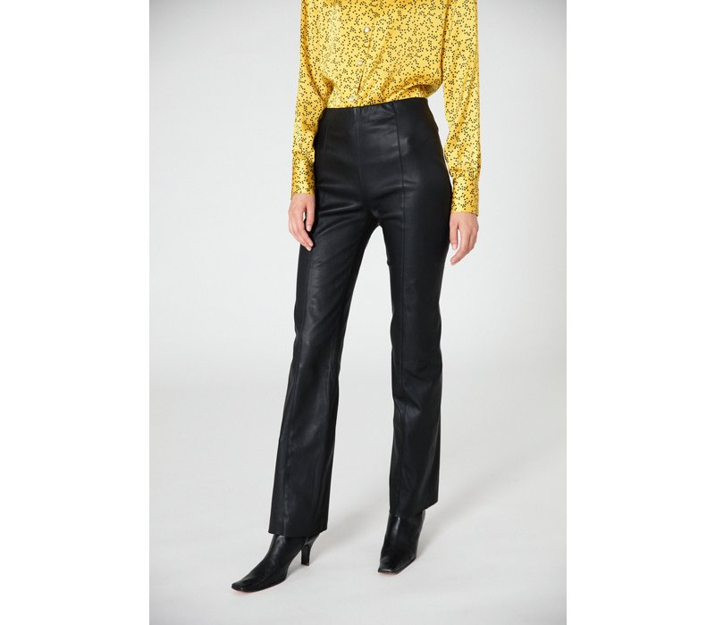 Veda Buck Leather Trouser