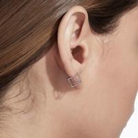 Shihara 3D Square Earring 7mm