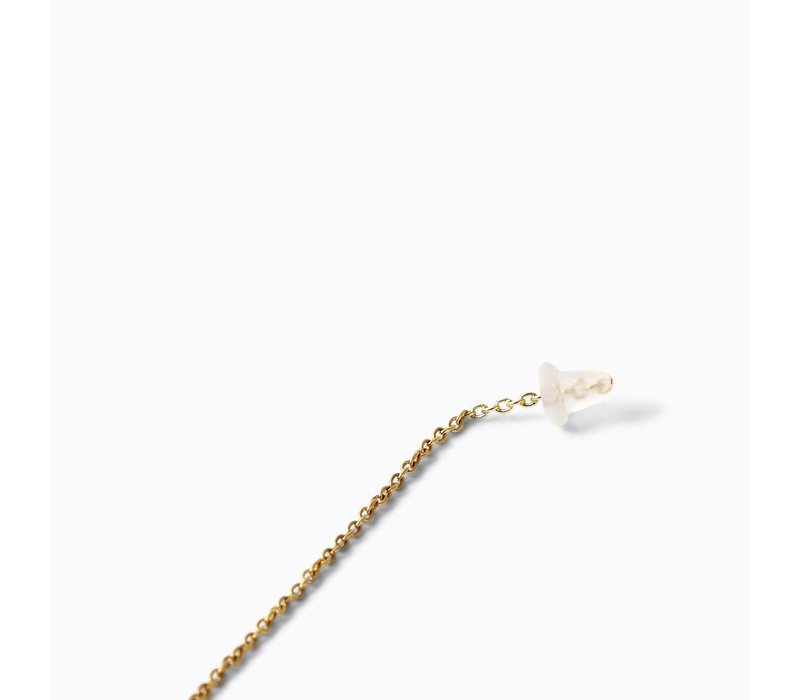 Shihara Diamond Chain Earring Single 03 250mm