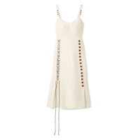 By Malene Birger Lace and Button Dress