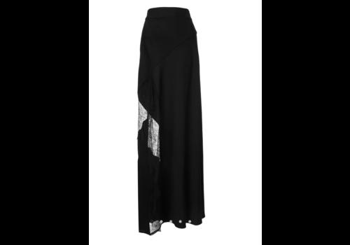 Lace Split Skirt