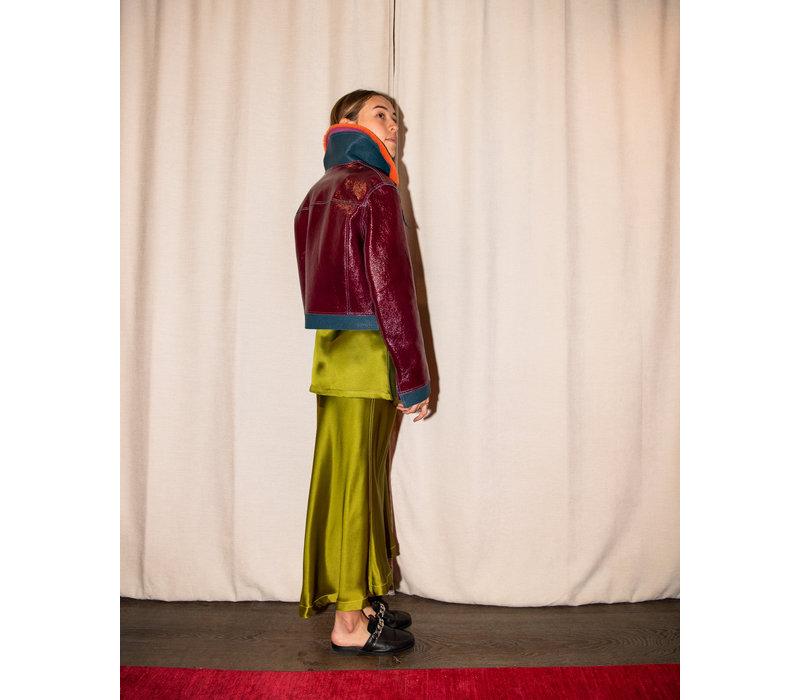 Sies Marjan Gabbie Patent Leather Jacket