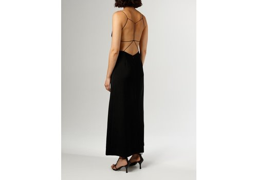 Wire Back Column Dress