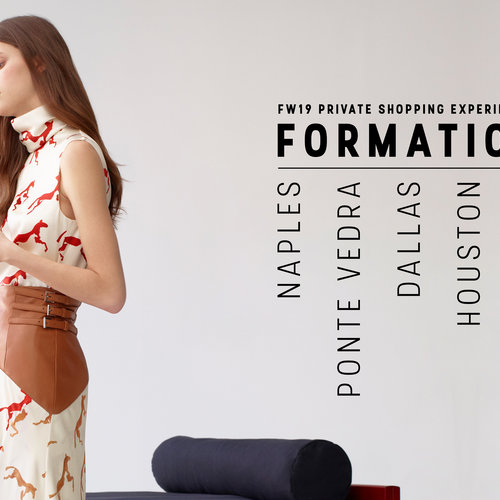 BOOK NOW | Formation FW19 Private Shopping Experiences