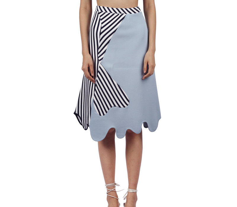 PH5 Anvil Colorblocked Midi Skirt
