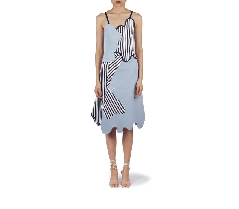 PH5 Anvil Colorblocked Midi Skirt