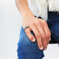 Bibi Van Der Velden Lion Stackable Ring
