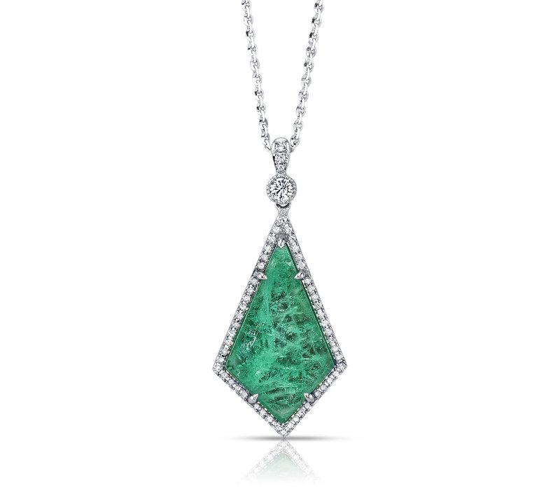Muzo Emeralds Atocha Pendant Necklace