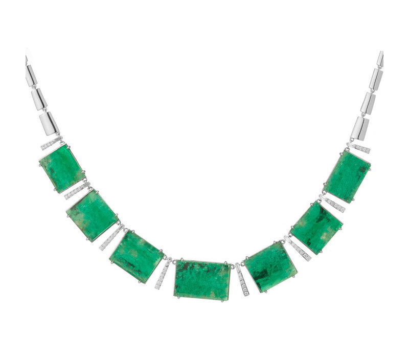 Muzo Emeralds Atocha Necklace