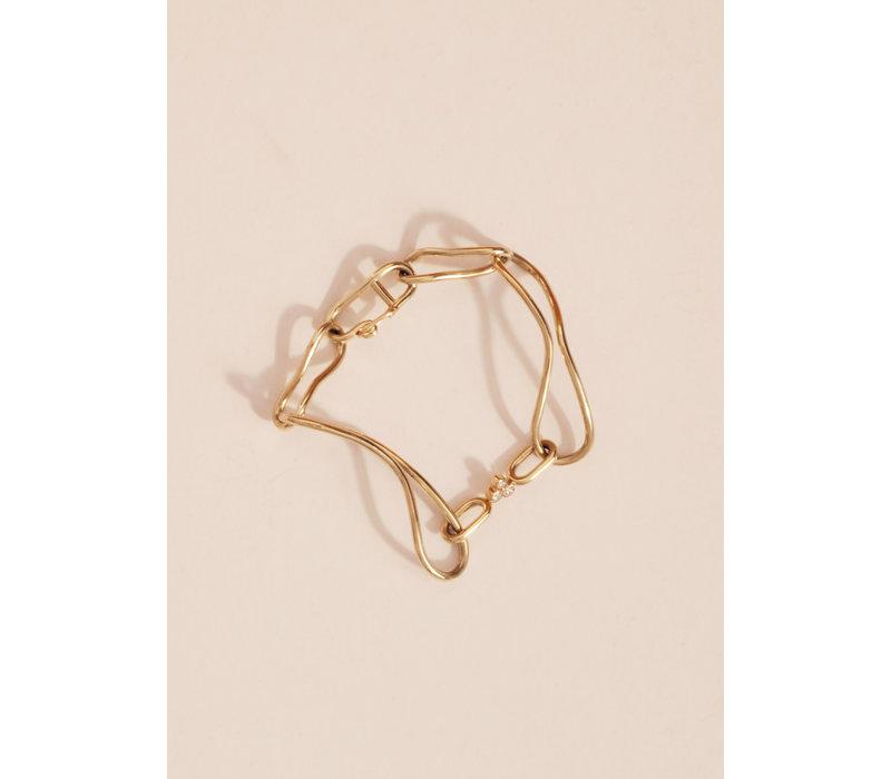 Nadia Shelbaya Femelle Link Bracelet