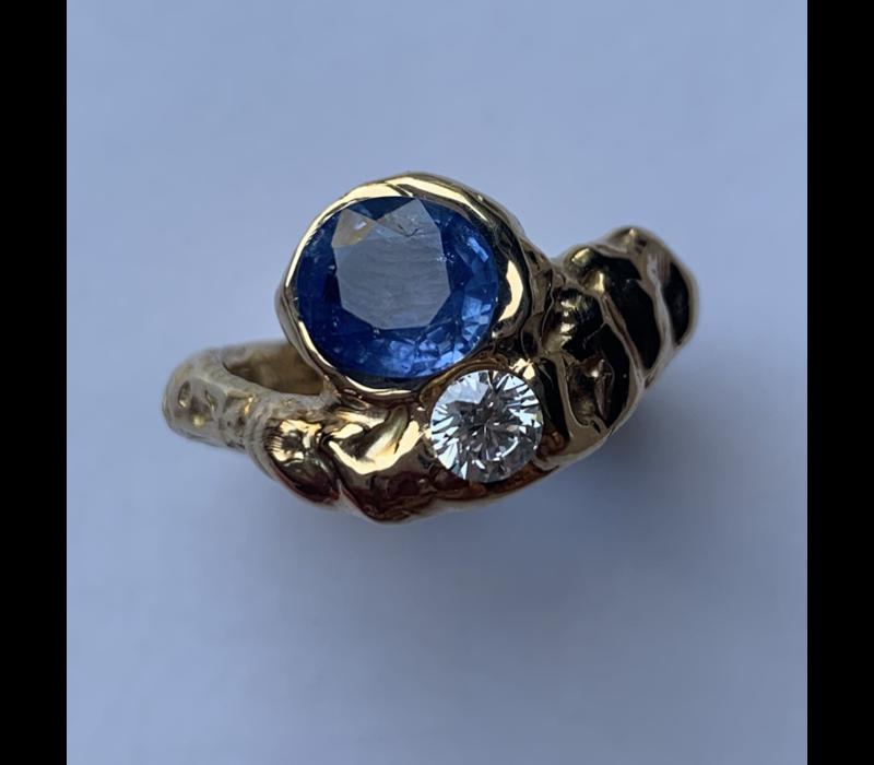 Nadia Shelbaya Toi et Moi Diamant Ring
