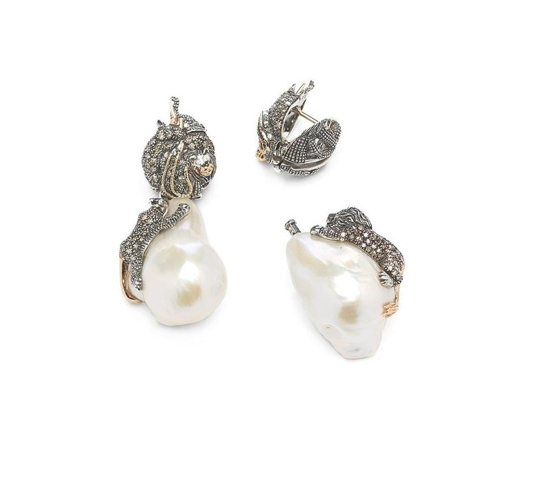 Bibi Van Der Velden Animal Stud Earrings