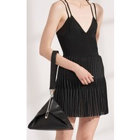 Dion Lee Godet Pleat Mini Dress