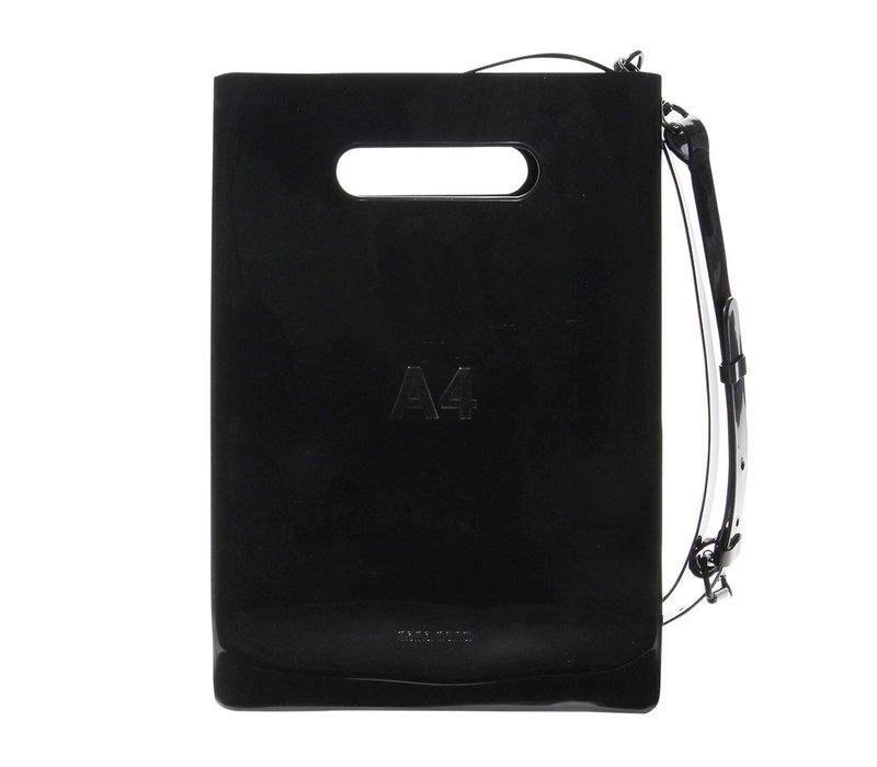 nana-nana Opaque PVC A4 Bag