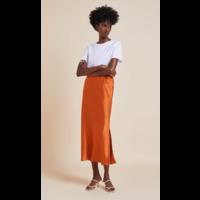 Olivia von Halle Isla Midi Skirt