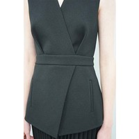 Dion Lee Utility Pleat Combo Dress