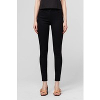 3x1 W3 Channel Seam High-Rise Skinny Jean Black
