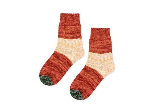 Tonal Dapple Crew Sock