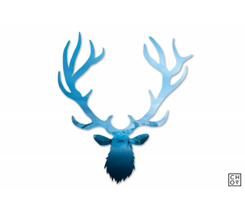 "Austin Chow ""Midnight Glacier // Elk Avatar"""