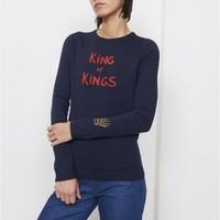 Bella Freud King of Kings Sparkle Jumper