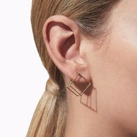 Shihara Square Earring 15mm