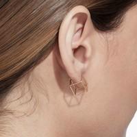 Shihara Square Earring 10mm