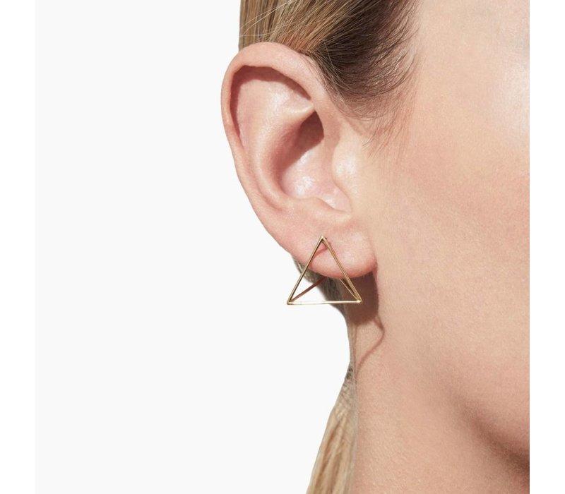 Shihara Triangle Earring 20mm