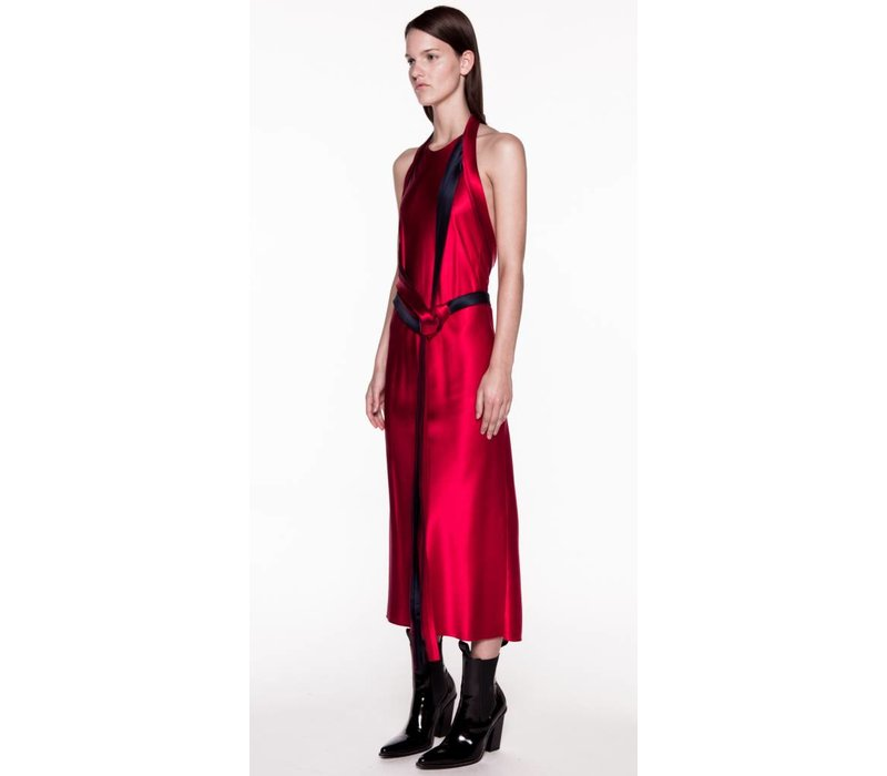 Dion Lee Nautical Knot Halter Dress