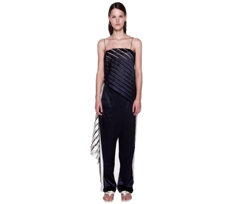 Dion Lee Suspended Lace Linear Top
