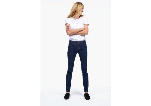 Baker Long Blue Super Stretch Selvedge Jeans