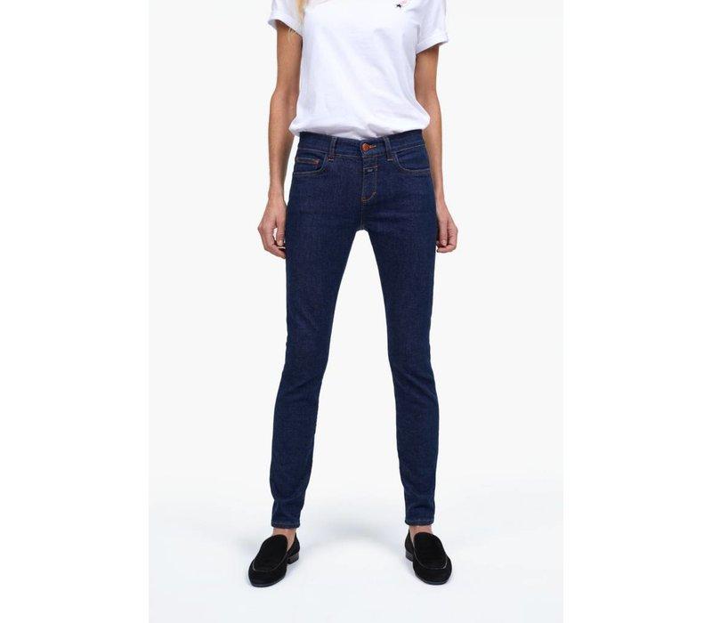 Closed Baker Long Blue Super Stretch Selvedge Jeans
