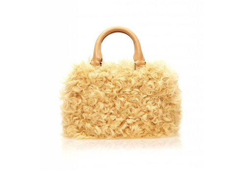 Brother Vellies Curly Goat Mini Island Bag