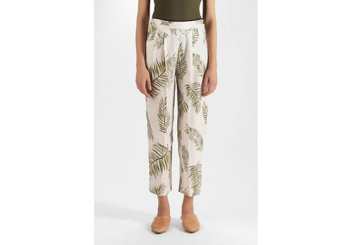 Forte Forte Leafprint High Waisted Pant