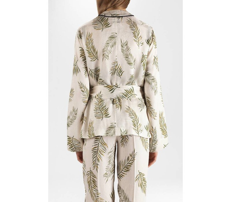 Forte Forte Leafprint Satin Jacket