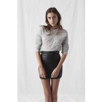 Aje Sedgwick Mini Skirt