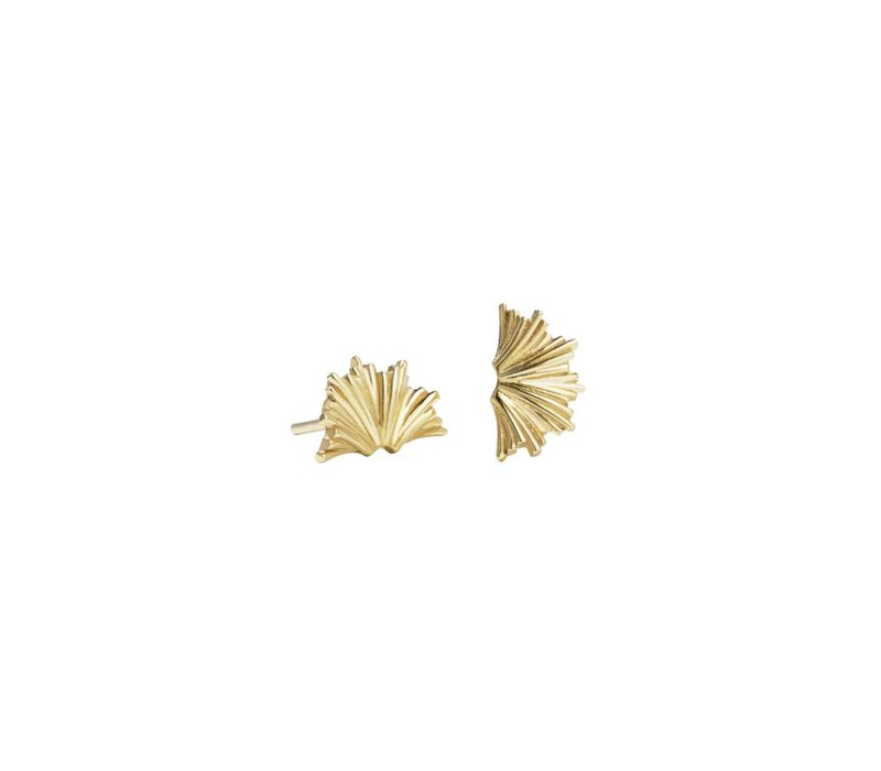 Meadowlark Small Vita Gold Earrings