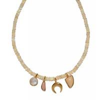Lizzie Fortunato Amulet Necklace