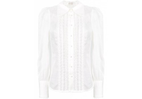 Golden Doily Blouse