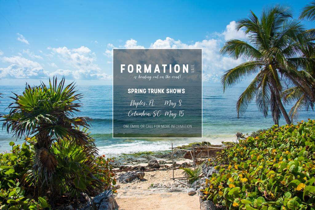 Formation Boutique Hitting the Road for Spring 2018 Trunk Shows