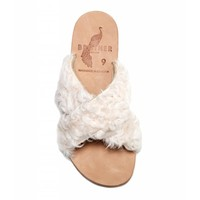 Brother Vellies Curly Goat Lamu Sandal
