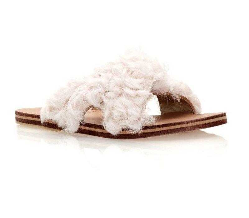 Brother Vellies Curly Goat Lamu Sandal