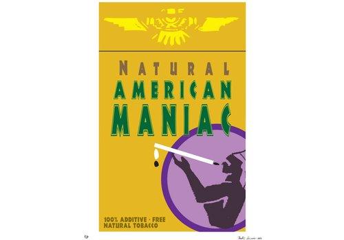 """""""Bad Habits: American Maniac"""" Unframed"""
