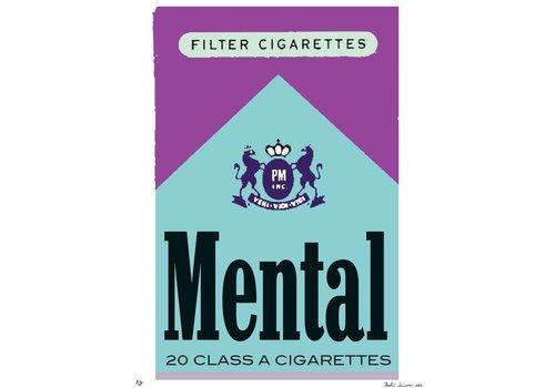 """""""Bad Habits: Mental"""" Unframed"""