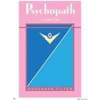 "Kristin Simmons ""Bad Habits: Psychopath"" Unframed"