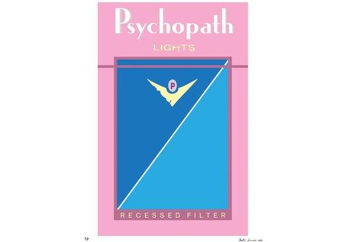 """Bad Habits: Psychopath"" Unframed"