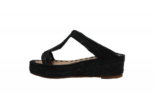 Bouchra Wedge Sandal