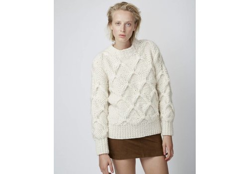 Officine Generale Diamond Pull Wool Sweater