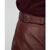Officine Generale Flora Leather Skirt