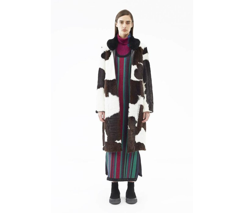 3.1 Phillip Lim Tailored Cowhide Coat