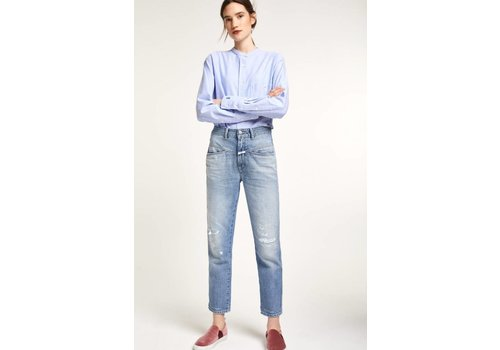 Pedal Pusher With Print Jean